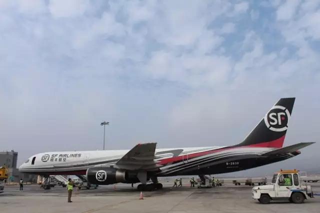 云南空港物流顺利完成顺丰全货机运输保障任务